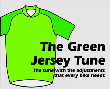 the green jersey tune