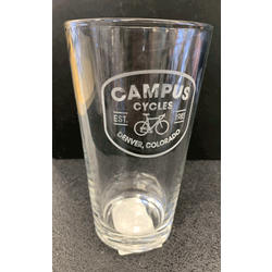 Campus Cycles Campus Cycles Pint Glass