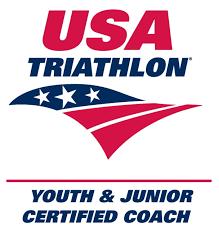 USA Triathlon Certified Youth & Junior Coach logo