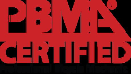 PBMA Certified Logo