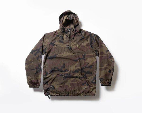 Title Camo Windbreaker Jacket
