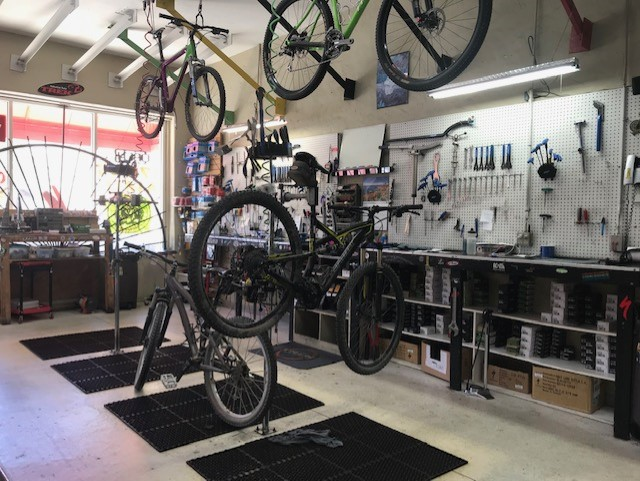 Bike shop service department