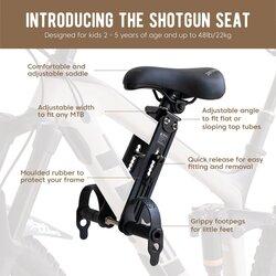 Kids Ride Shotgun Front Mounted Child Seat