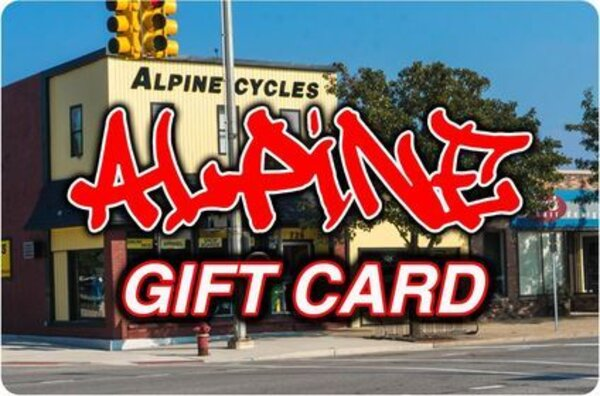 Alpine Cycles Gift Card