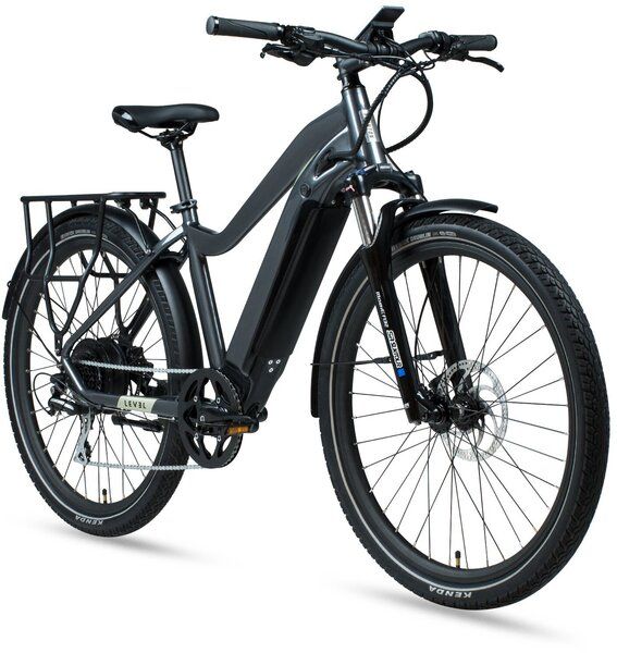 Aventon Level Commuter E-Bike - Earth Grey