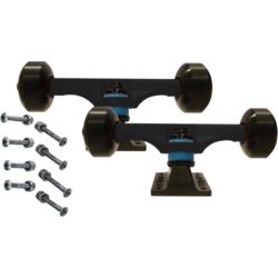 LiteZpeed Skateboard Complete Component Kit w/ Hardware