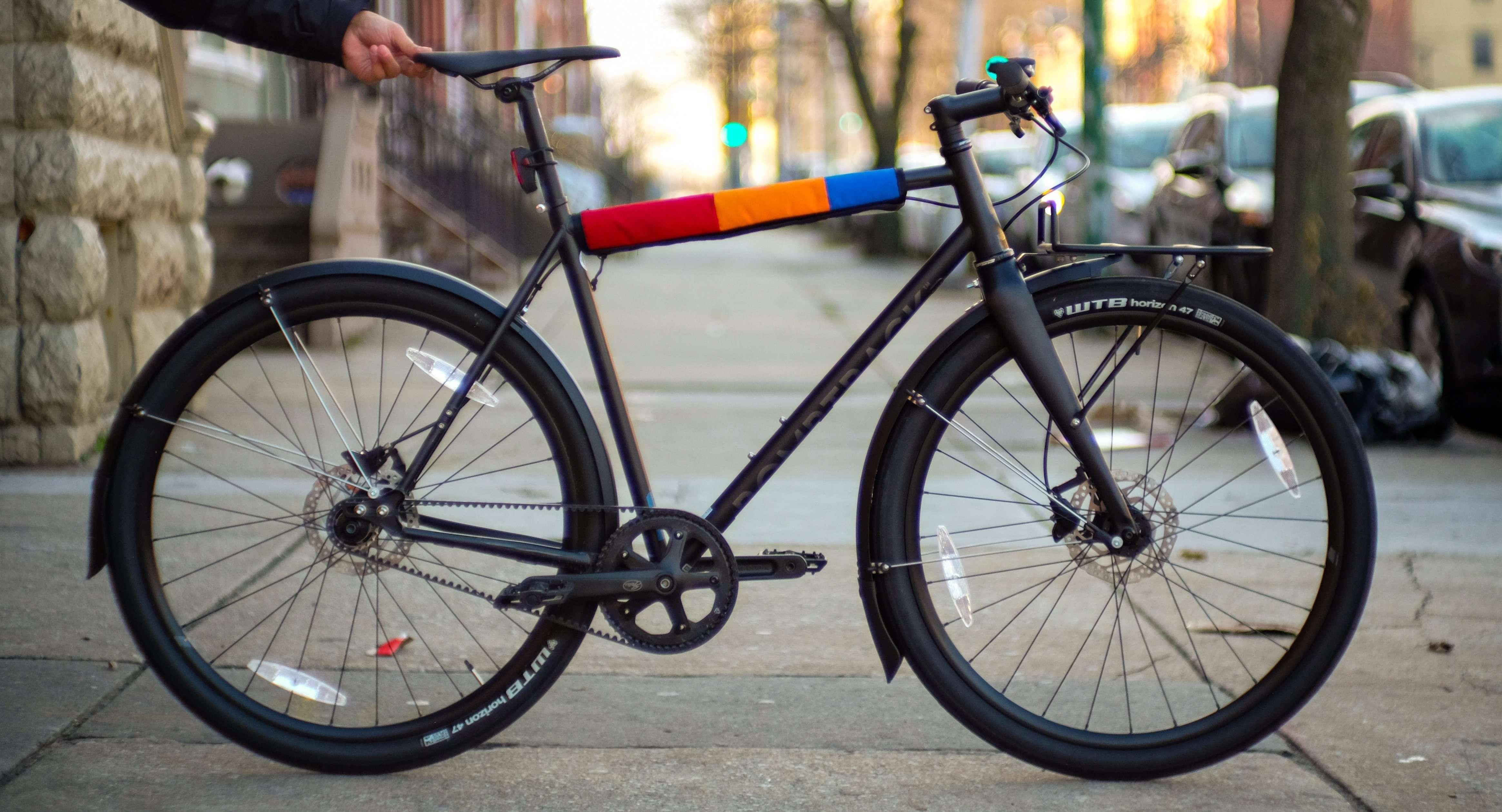 Custom Bombtrack commuter bike