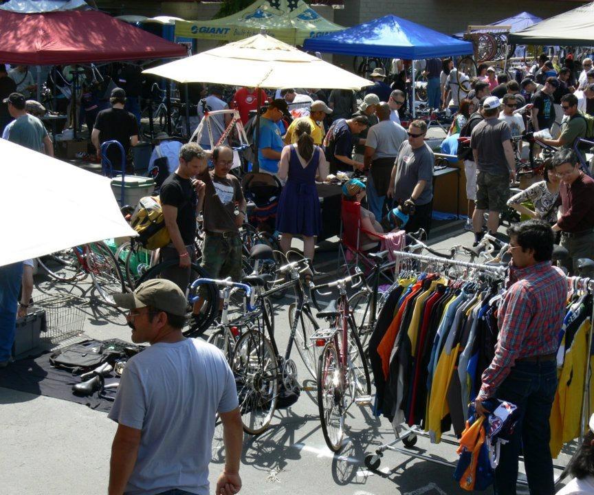 Cupertino Bike Shop Swap Meet