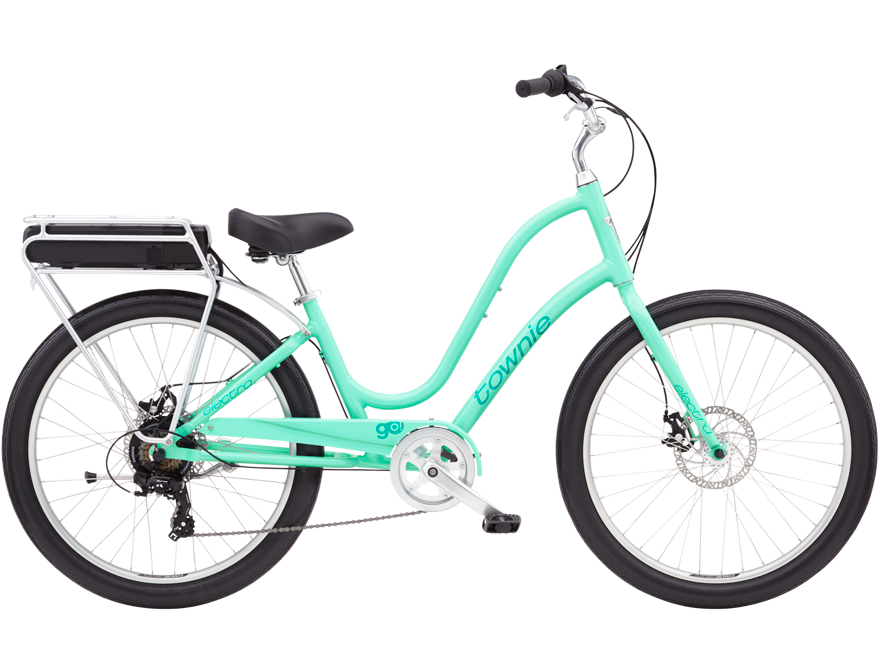 Electra Townie Go! Step-Thru eBike