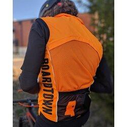 Boardtown Custom Apparel Hi-Viz Orange Boardtown Vest
