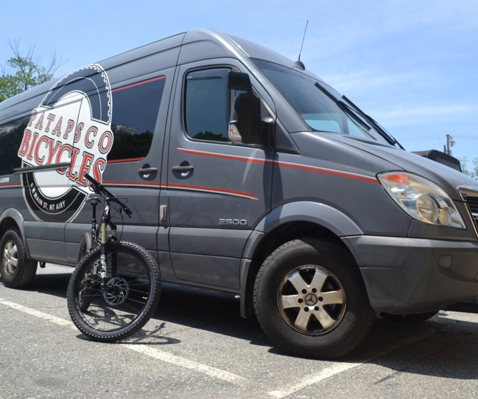 Mobile bicycle shop
