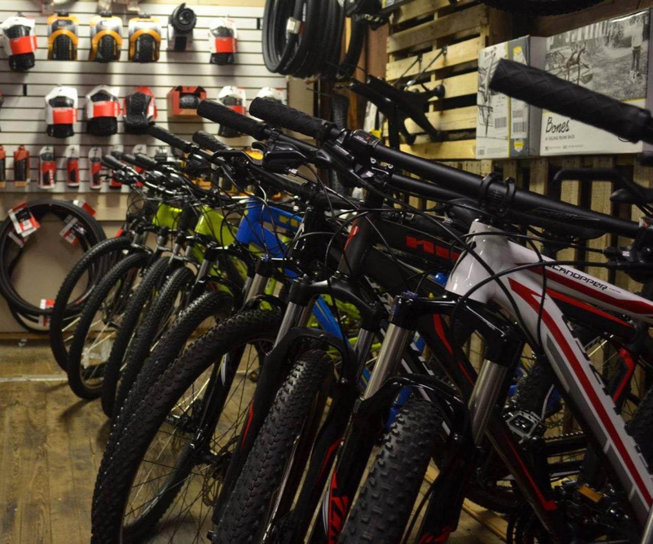 Bicycles sales