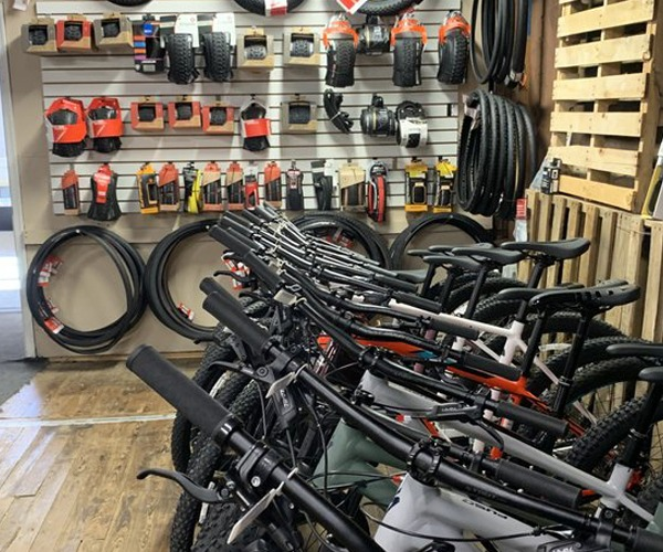 Mountain bikes & accessories