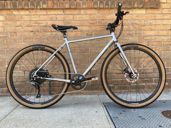 All-City Super Professional Flat Bar - AB Custom - 46cm