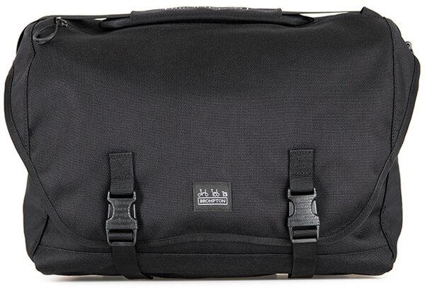 Brompton Metro Messenger Bag - Large - Black