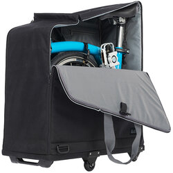 Brompton Padded Travel Bag with Rollers