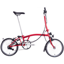 Brompton H6R with Dynamo - House Red