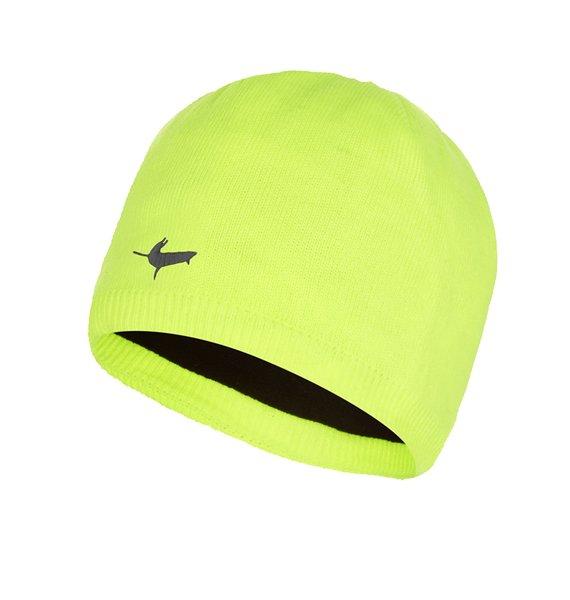 SealSkinz Waterproof Beanie Hat - Hi Vis