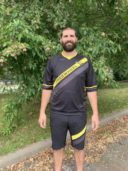 Freewheel Bike 2019 DNA 3/4 Sleeve Freeride Jersey