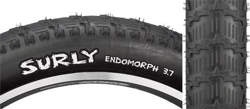 """Surly Endomorph 26x3.7"""" Tire 27tpi Black/Black"""