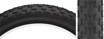 """Surly Surly Larry 26x3.8"""" Tire 120tp, Black/Black Skinwall"""