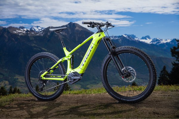 9e978f5d180 Trek Powerfly FS 7 Plus Photo Shoot Bike - Freewheel Bike Shop ...