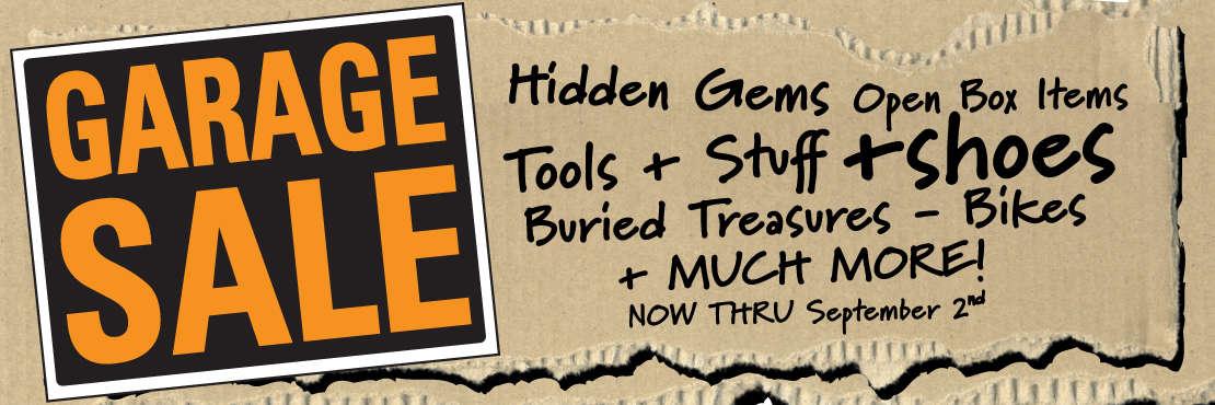 Freewheel Bike Garage Sale!