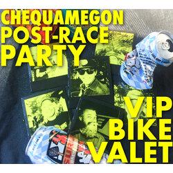 Freewheel Events Chequamegon Finish Line Bike Valet and Overhaul