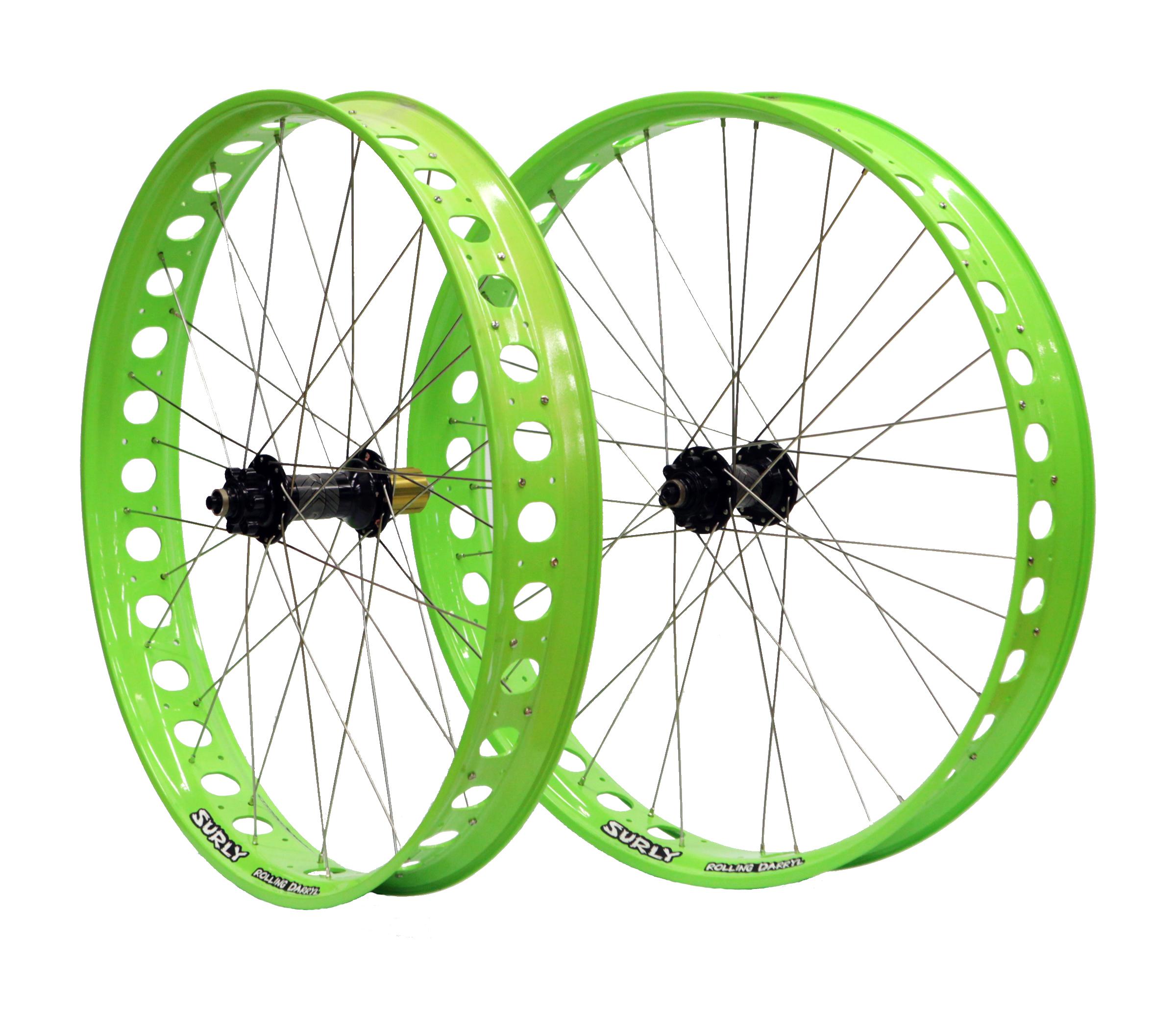 Freewheel Bike Fat Bike Wheel Set - Hope Fatsno/Surly