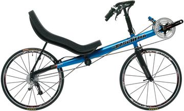 Bacchetta Aero carbon fiber recumbent bicycle