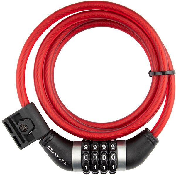 Sunlite Combo Flexshield Cable Lock
