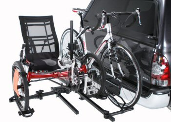 Hollywood Racks Sport Rider Heavy Duty Recumbent Rack with trike adaptor