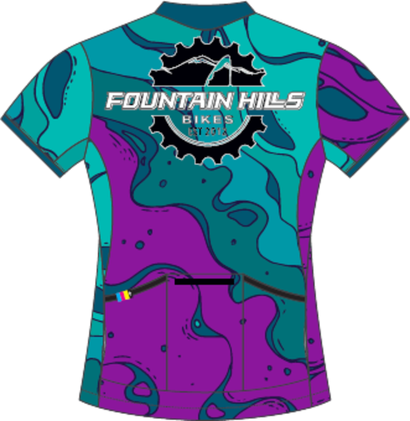 Fountain Hills Bikes Men's All Mountain Jersey