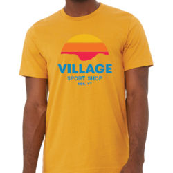 VSS VSS MUSTARD MOUNTAIN GAP TEE