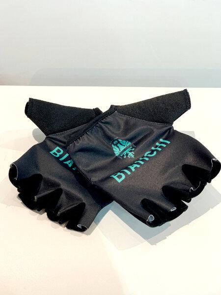 Bianchi Team Gloves Short Finger