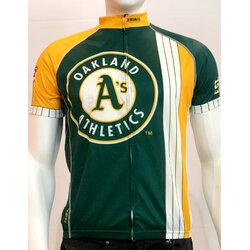Primal Wear Oakland A's Men's Cycling Jersey