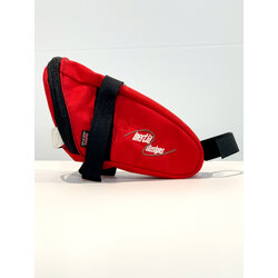 Centripedal Bikes Centripedal Logo Saddle Bag - Red
