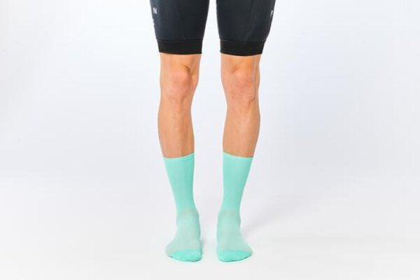 Fingers Crossed Classic Socks - Celeste