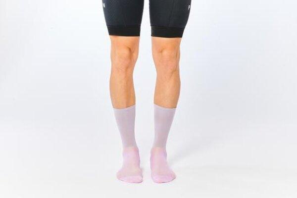Fingers Crossed Classic Socks - Rose Ash
