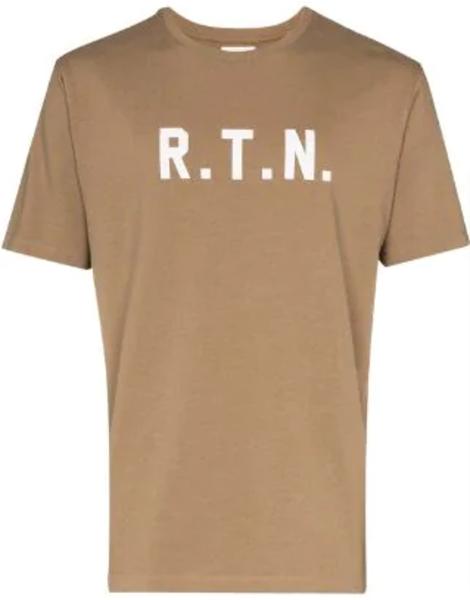 Pas Normal Studios RTN T-Shirt - Beige/White