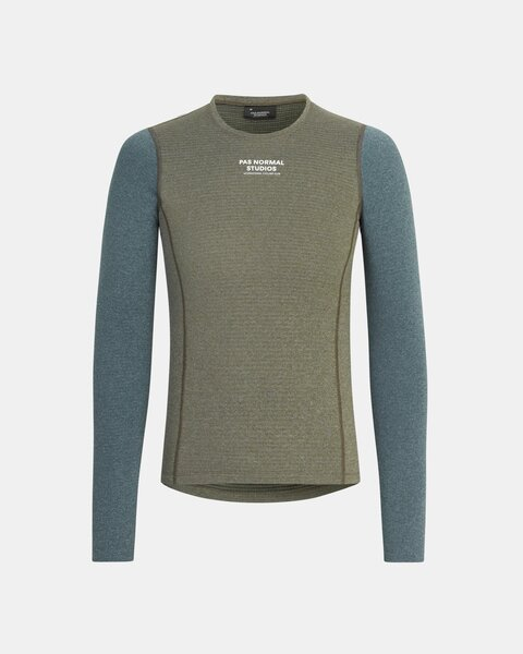 Pas Normal Studios Control Heavy LS Base Layer - Olive