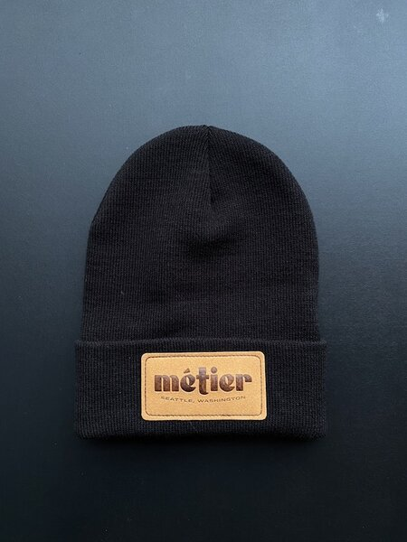 Metier Natural Patch Beanie