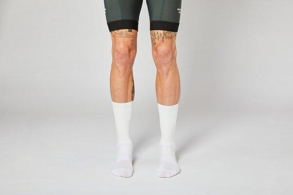 Fingers Crossed AERO White Socks