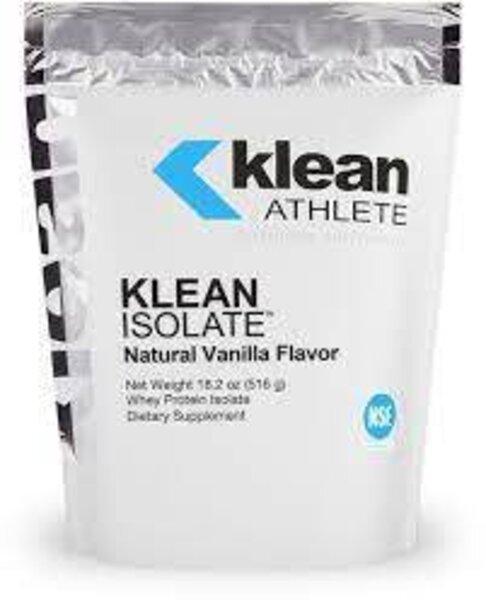 Klean Athlete Klean Isolate Natural Vanilla