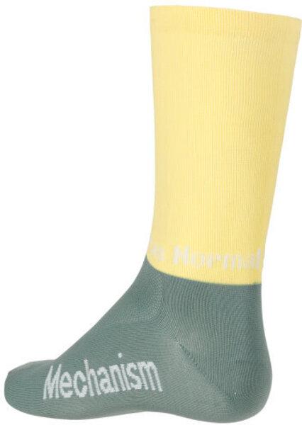 Pas Normal Studios Mechanism Block Socks - Dusty Green