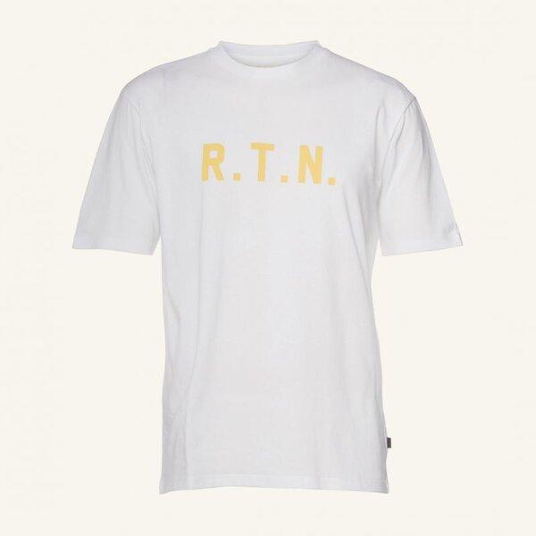 Pas Normal Studios RTN T-Shirt - White/Yellow