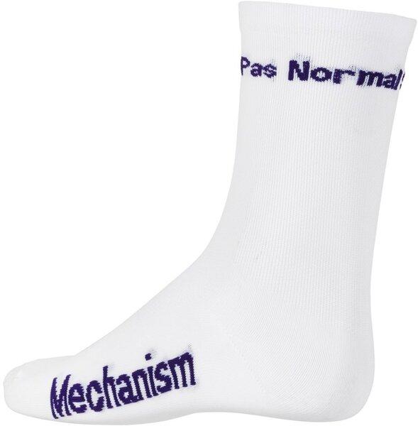 Pas Normal Studios Solitude Socks - White/Purple