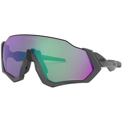 Oakley Flight Jacket Matte Steele w/ Prizm Road Jade
