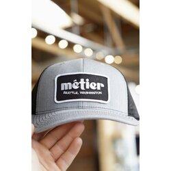 Metier Trucker Hat - Dark Grey/Black