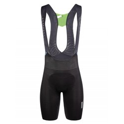 Q36.5 Unique Black Bib Shorts